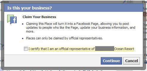 How to Merge Facebook Place and Page